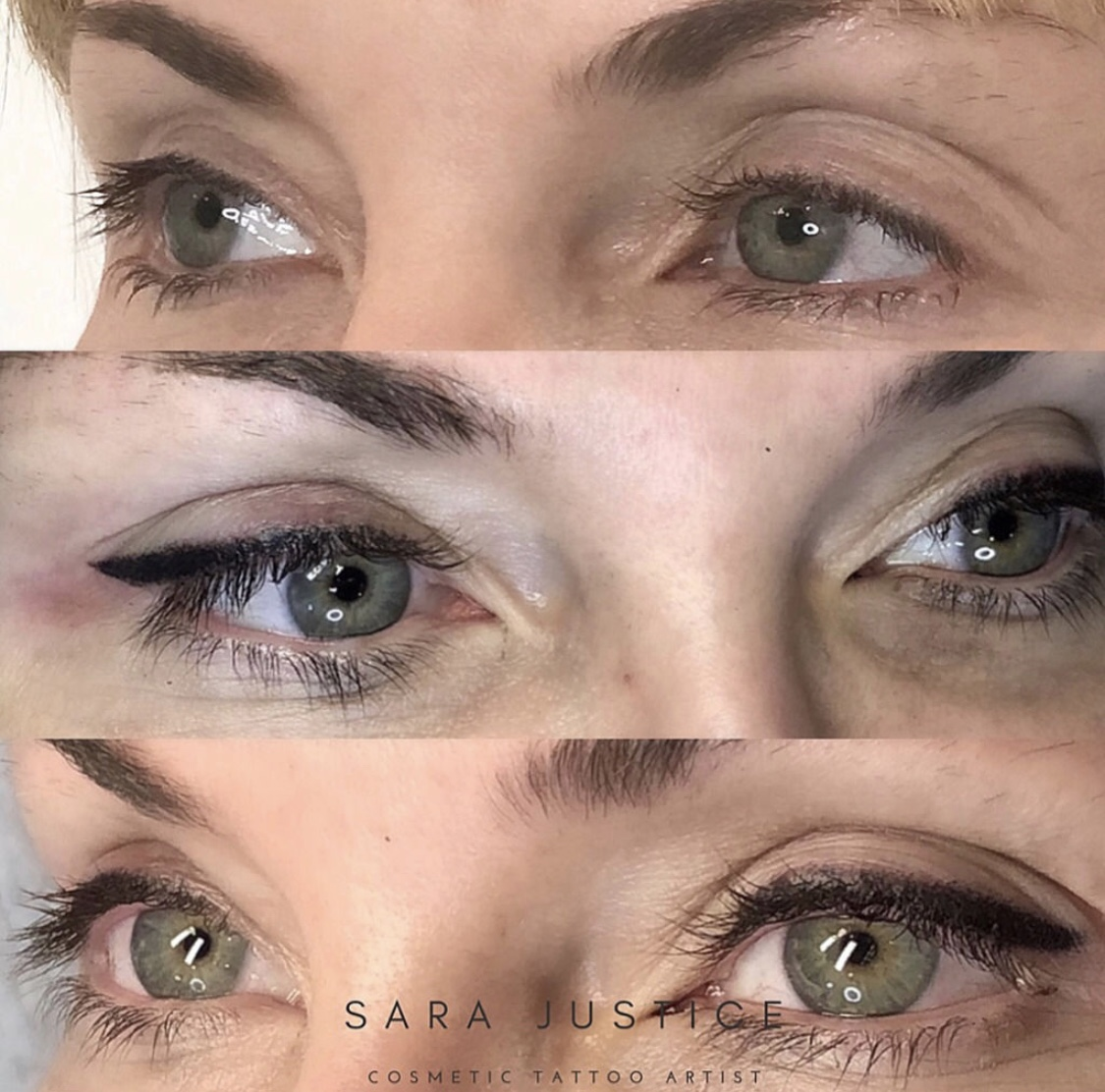 An eyeliner tattoo that you don't have to worry about | Sara