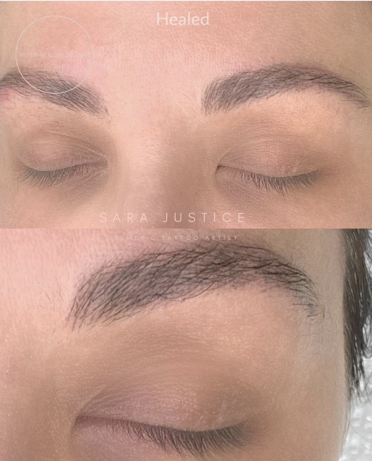 3D Microblading for eyebrows in Atlanta, GA | Sara Justice
