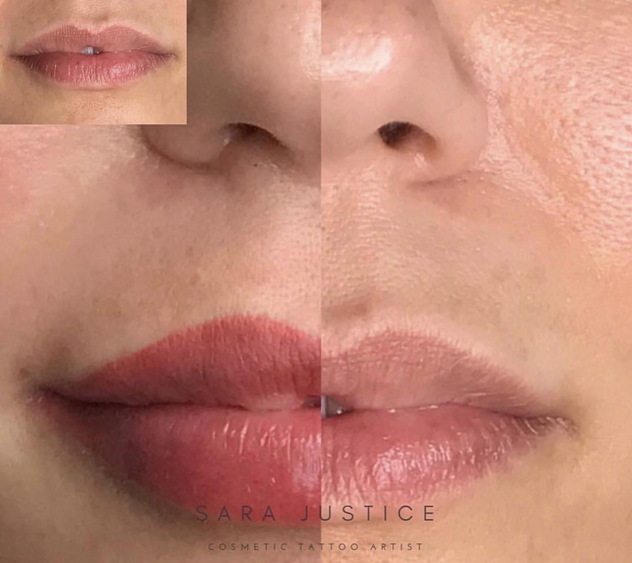 Permanent Lipstick / Permanent Lip Color in Atlanta, GA | Sara Justice
